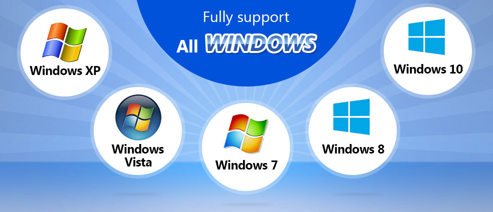 AV Voice Changer Software Diamond 7.0 fully supports all Windows OS