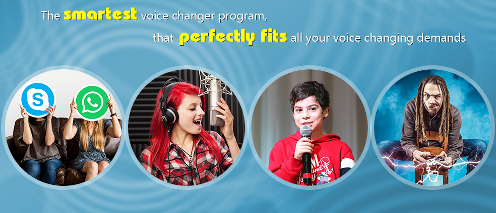 AV Voice Changer Diamond 7.0 is suitable for all online and offline voice changing purposes