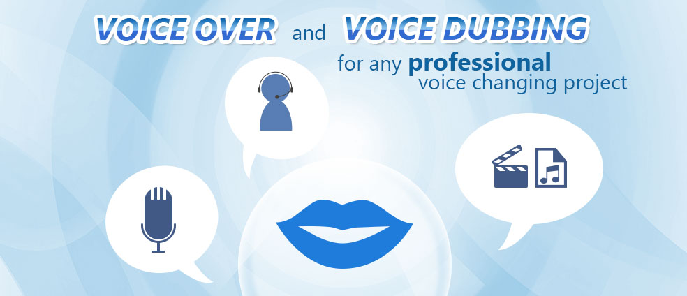 Voice Changer Software Diamond can do professional voice over and voice dubbing tasks