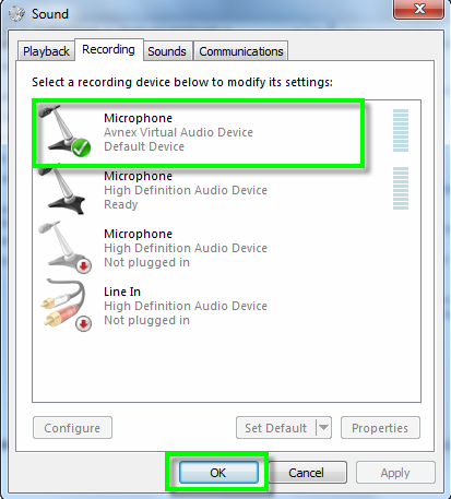 avnex virtual audio device driver free download